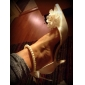 Satin Stiletto Sandals With Imitation Pearl For Wedding (More Colors)