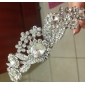 Alloy With Cubic Zirconia Wedding Bridal Tiara