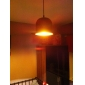 Artistic Aluminum  Pendant Light in Black Shade