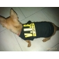 VIP Style Cotton Dog Shirt (XS-L, Black)