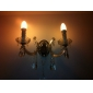 Artistic Crystal Wall Light with 2 Lights