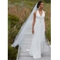 Nylon A-Line Medium Fullness 1 Tier Floor-length Slip Style/ Wedding Petticoats