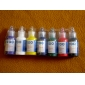 Standard 7 Color Tattoo Ink Set 7 x 20 mL