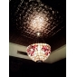 18 Inch Tiffany-style Floral Natural shell Material Inverted Pendant Light (0835-D8005)