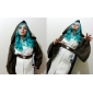 cosplay peruk inspirerad av Sailor Moon Michelle Kaioh / sailor neptune