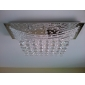 Luxuriant Crystal Flush Mount Light with 8 Lights