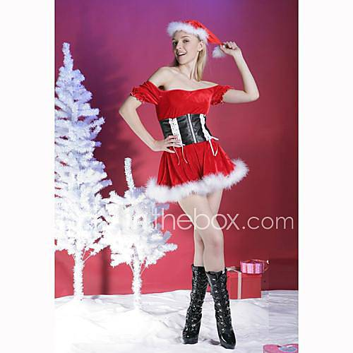 184471021947f34b9b384b7 Adult Sexy Costume Santa Dress Santa Baby (LRB1682). Item ID #00019246