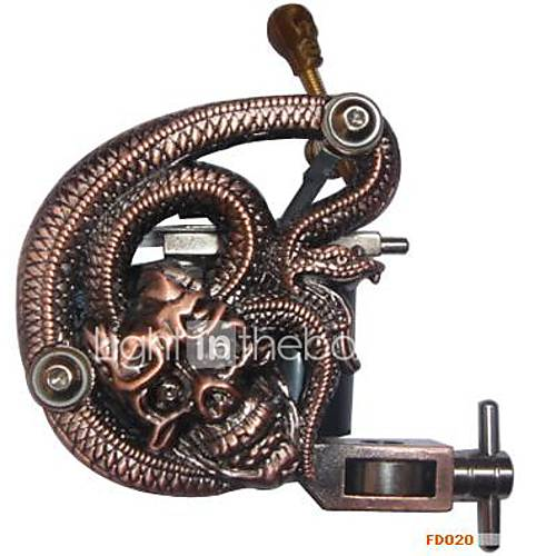New Golden Tattoo Machine Gun Pro 10 Wrap Coil Hot Sale