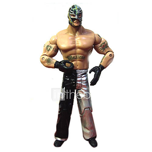 WWE TNA ECW 619 Rey Mysterio Action Figure  BATTLE STATS: Total Wins:3