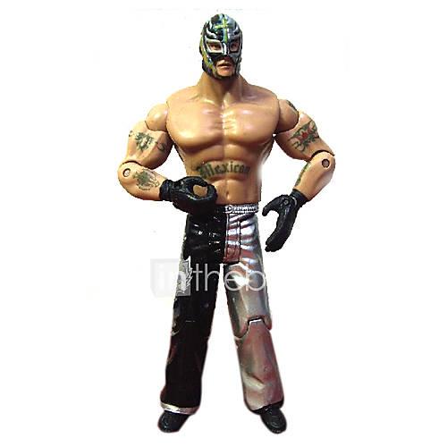 WWE TNA ECW 619 Rey Mysterio Action Figure  BATTLE STATS: Total Wins:3