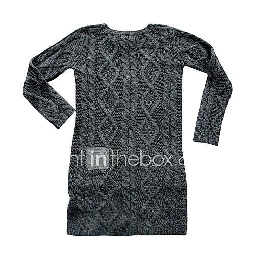 Fashion Handmade Wool Sweater Purple - Wholesale, wholesale