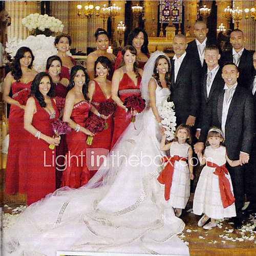 Wedding Dresses Photos Of Eva Longoria S Wedding Dress
