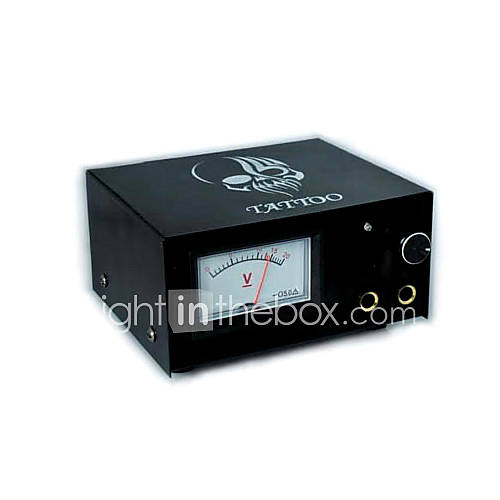 High Quality 10 Turns Analog Tattoo Power Supply (DT-P013) - US$ 44.99