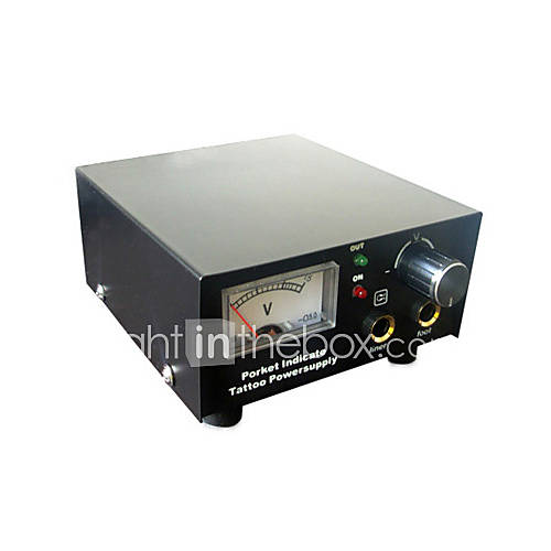 High Quality 10 Turns Analog Tattoo Power Supply (DT-P004) - US$ 44.99