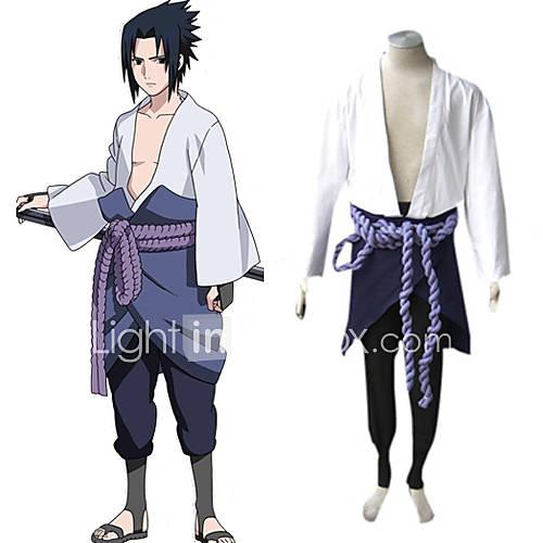 Naruto Shippuden Sasuke Uchiha Men's Cosplay Costume