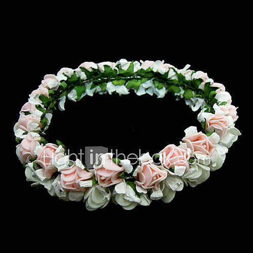 Lovely Paper Flower Wedding Bridal Headpiece Garland Share