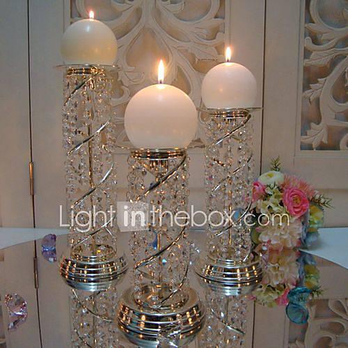 candle holders crystal | Yebab.com