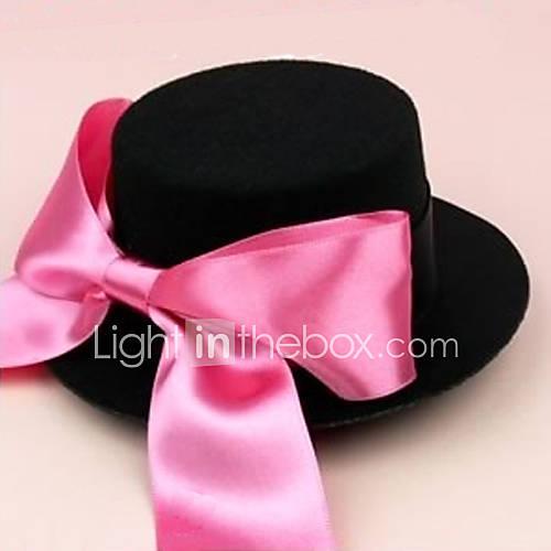 Винтажная шляпка Черная.