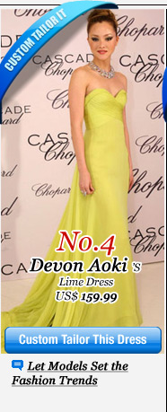 Devon Aokis Lime Dress