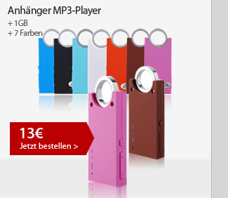 Anhänger MP3-Player