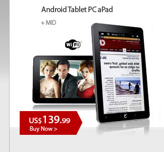 Android Tablet PC aPad