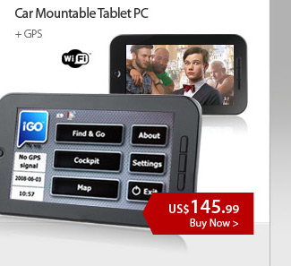 Car Mountable Tablet PC