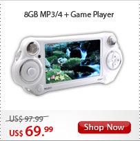 8GB MP3/4 + Game Player