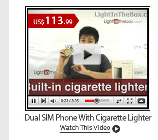 Dual SIM Phone With Cigarette Lighter