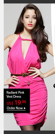 Radiant Pink