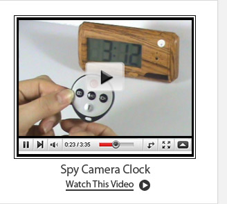 Spy Camera Clock