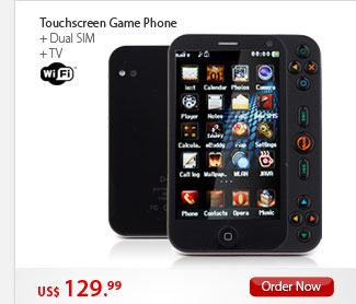 Touchscreen Game Phone