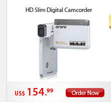 HD Slim Digital Camcorder