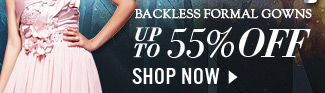 Backless Formal Gowns