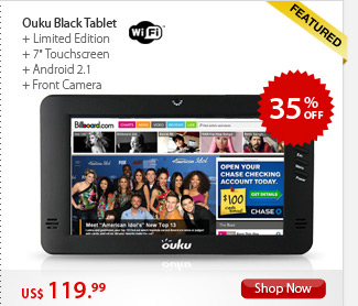 Ouku Black Tablet