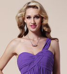 Sheath/ Column Strapless Floor-length Sequined Chiffon Evening Dress