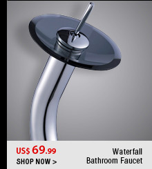 Waterfall Bathroom Faucet