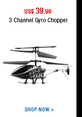 3 Channel Gyro chopper