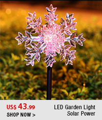 LED Garden Light Solar Power