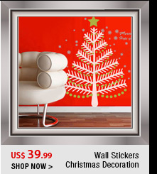 Wall Stickers Christmas Decoration