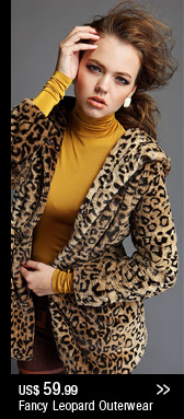 Fancy Leopard Outwear