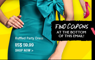 Ruffle Party Dress