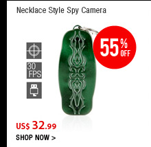 Necklace Style Spy Camera