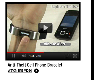 Anti-Theft Cell Phone bracelet
