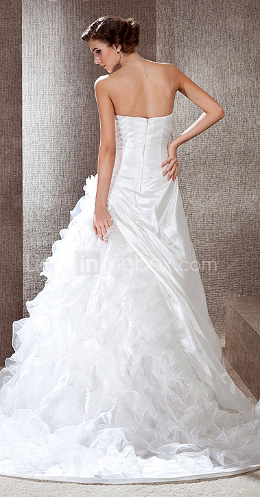 HENNY - Abito da Sposa in Taffet