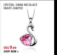 Crystal Swan Necklace