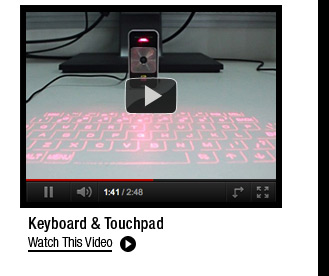 Keyboard & Touchpad
