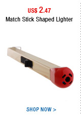 Match Stick Shaped Lighter