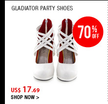 Gladiator Party Shoes
