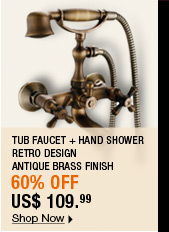 Tub Faucet + Hand Shower