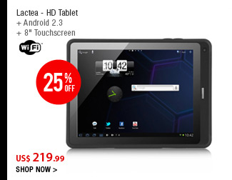 Lactea - HD Tablet
